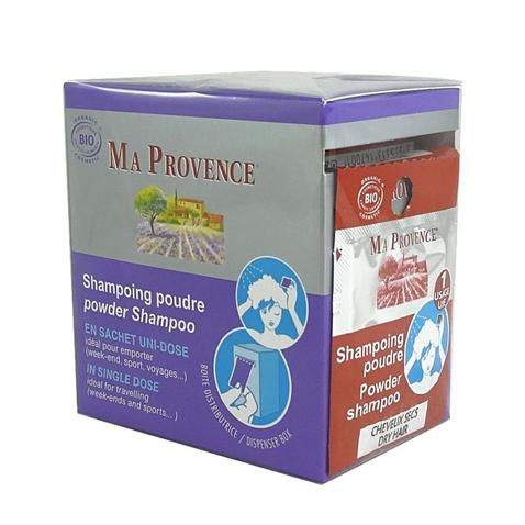 Práškový šampón Bio Ma Provence na suché vlasy