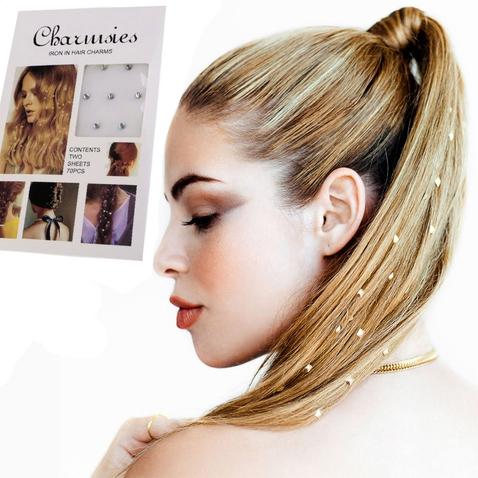 Nažehľovacie kamienky do vlasov