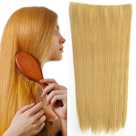 Clip in vlasy - 60 cm dlhý pás vlasov - odtieň 25