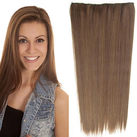 Clip in vlasy - 60 cm dlhý pás vlasov - odtieň M4/27