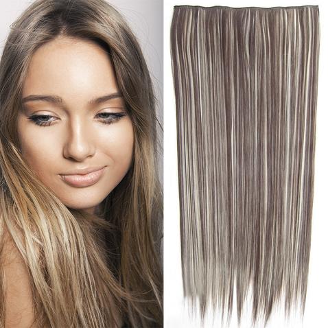 Clip in vlasy - 60 cm dlhý pás vlasov - odtieň F613 /4