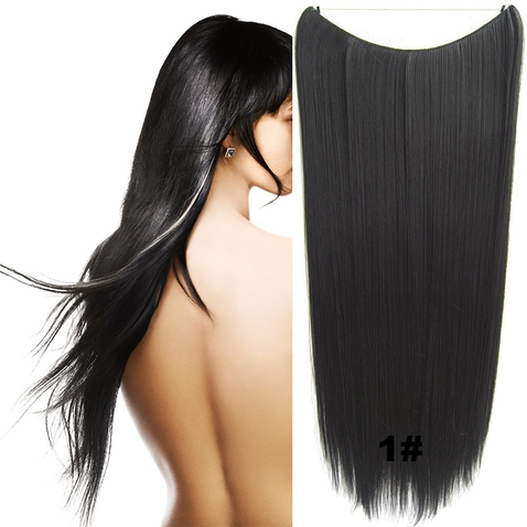 Flip in vlasy - 60 cm dlhý pás vlasov - odtieň 1 #