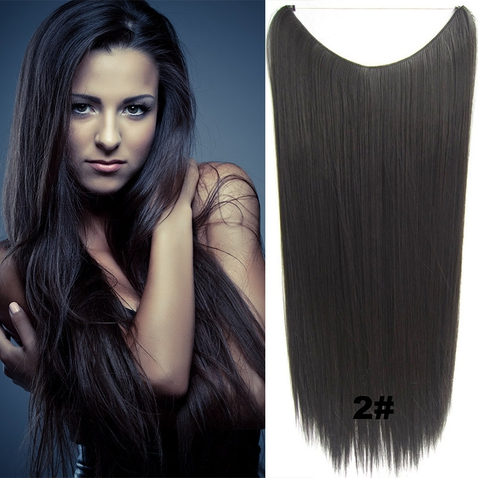 Flip in vlasy - 60 cm dlhý pás vlasov - odtieň 2