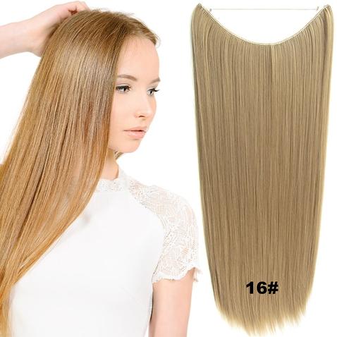 Flip in vlasy - 60 cm dlhý pás vlasov - odtieň 16