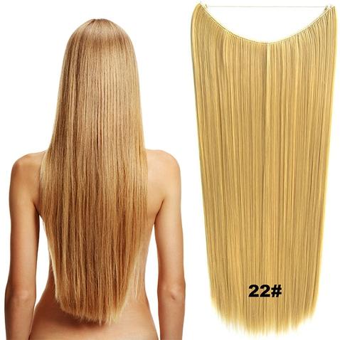 Flip in vlasy - 60 cm dlhý pás vlasov - odtieň 22