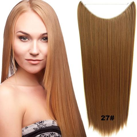 Flip in vlasy - 60 cm dlhý pás vlasov - odtieň 27