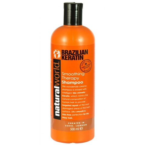 Natural World Brazil keratín šampón, 500ml