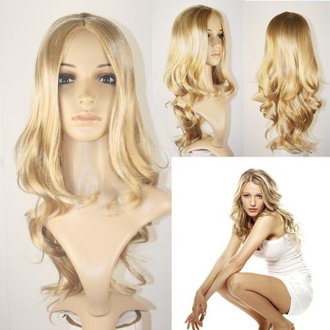 Parochňa Suzan plavá blond - 57 cm