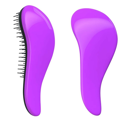 Dtangler rozčesávacia kefa na vlasy - Purple