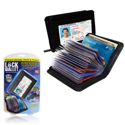 Puzdro na doklady a platobné karty imitácia kože
