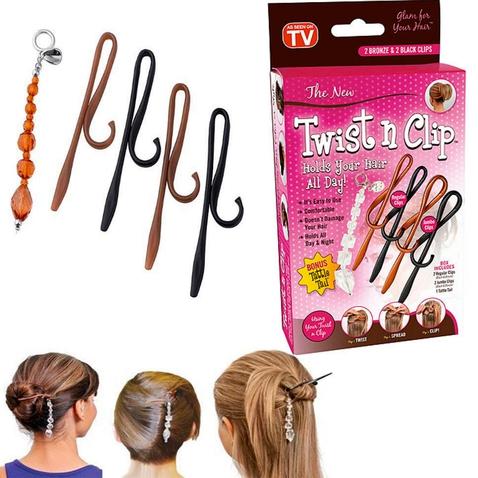 Spony do vlasov Twist n Clip