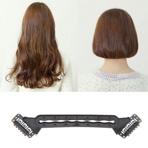 Clip in skracovač vlasov - pomôcka pre vytvorenie mikáda