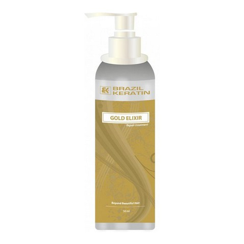 Brazil keratín GOLD Elixír Repair Treatment  50 ml