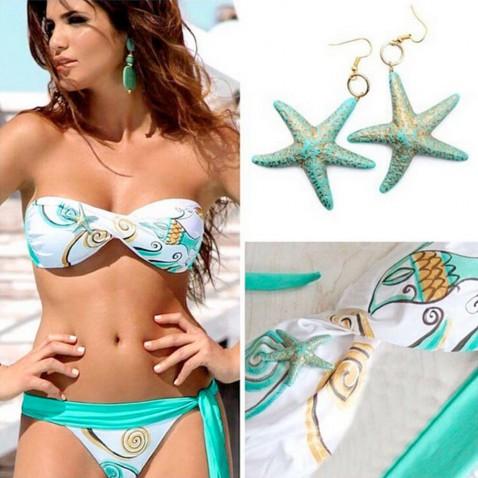Dámske dvojdielne plavky Ocean Star