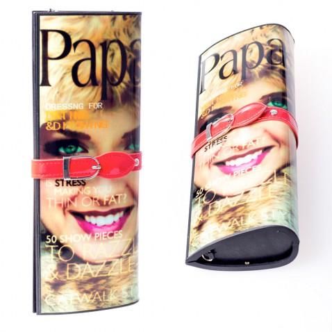 Listová kabelka - dizajn módneho časopisu - Paparazzi